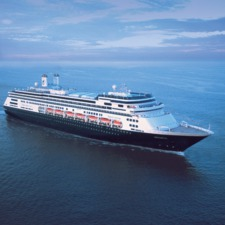Holland America Line cruises - MS Amsterdam at sea