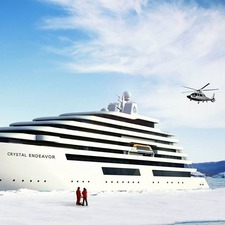 Crystal Endeavor in the polar regions