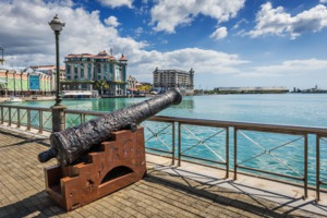 Port Louis waterfront, Mauritius