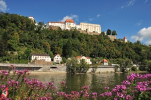 Riverside at Passau, Germany