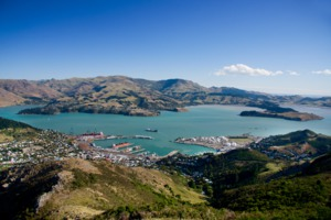 Lyttelton Harbour, Christchurch, New Zealand