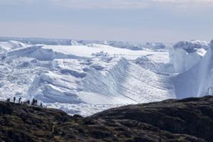Ilulissat ice fjord, Greenland