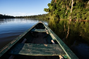 Boat on the Amazon, Manaus