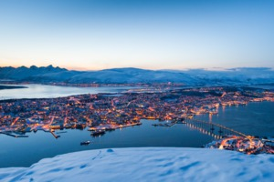 Winter in Tromso, Norway