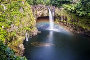 Rainbow Falls, Hilo, Hawaii