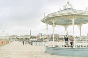 Bandstand at Dun Laoghaire harbour, Dublin
