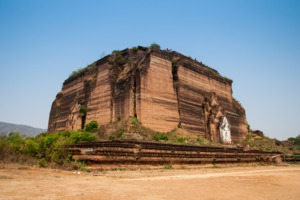 Unfinished Pagoda, Mingun Paya, Myanmar