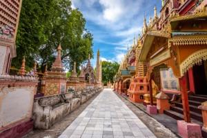 Thanboddhay pagoda, Monywa, Myanmar