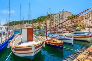 Fishing boats in Bonifacio, Corsica