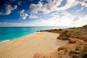 Beach on St Maarten