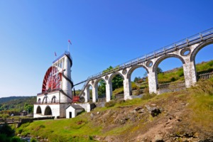 Great Laxey Wheel & Viaduct, Isle of Man