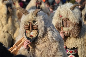 Busó carnival in Mohács, Hungary