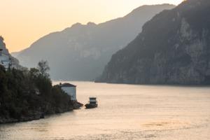 Yangtze river at Yichang, China