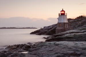 Castle Hill lighthouse, Newport, Rhode Island