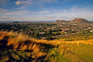 View of Edinburgh from Braid Hills