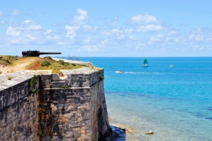 Fort at Hamilton, Bermuda