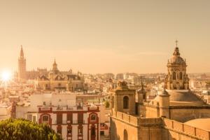 Seville skyline, Spain