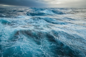 Stormy seas in the Drake Passage, Antarctica