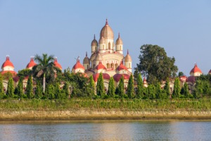 Dakshineswar Kali temple in Kolkata, India