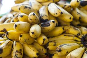 Bananas at a market in Fort-de-France, Martinique