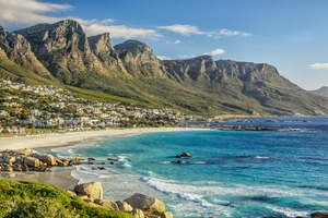Cape Town beach, South Africa