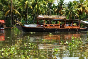 Kerala backwaters near Kochi, India