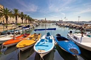 Split harbour, Croatia