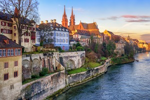 Basel old town, Switzerland