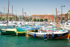 Port de Nice, France