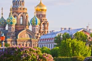Orthodox church, St Petersburg