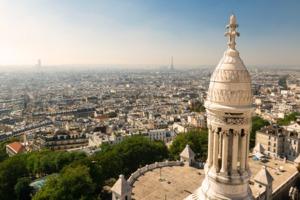 View of Paris from the Sacré Coeur