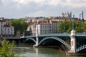 Bridge in Lyon, France