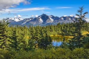 Lost Lake Trail near Seward, Alaska