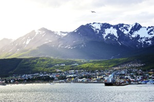 View of Ushuaia, Argentina