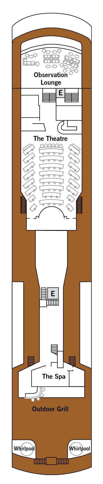 Silver Explorer deck plans - Deck 6
