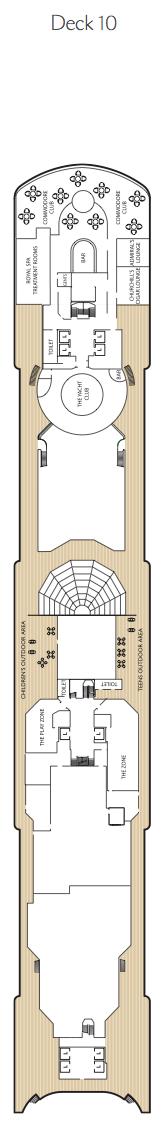 Queen Elizabeth deck plans - Deck 10