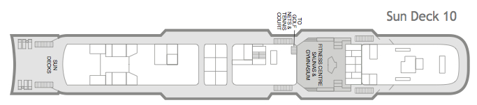 Fred. Olsen - Black Watch deck plans: Sun Deck 10