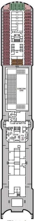 Holland America Line - MS Nieuw Amsterdam deck plans - Deck 10