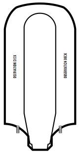 Holland America Line - MS Prinsendam deck plans - Deck 13 (Observation Deck)