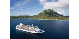 World Cruise - Regent Seven Seas Voyager in Tahiti