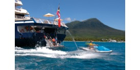 Active cruises - Jetskiing with SeaDream Yacht Club