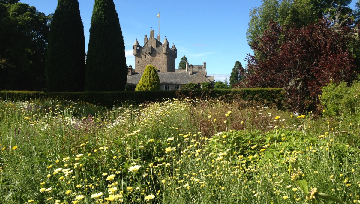 Cawdor Castle and gardens