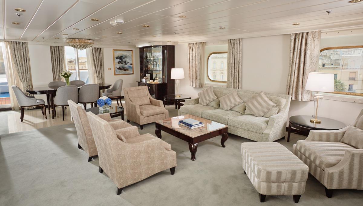 Regent Seven Seas Mariner Master Suite