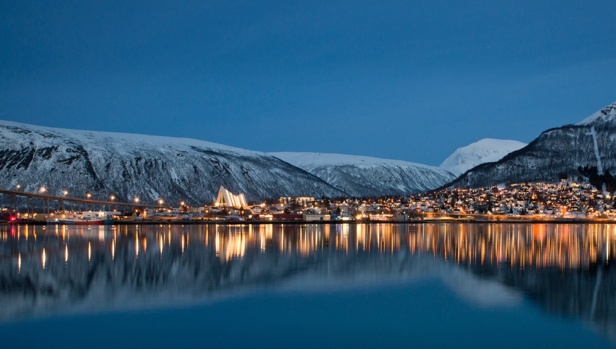 Tromso at night