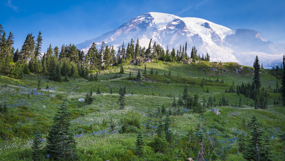 Mount Rainier, Washington state