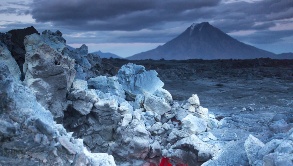 Volcanoes in Kamchatka, Russia