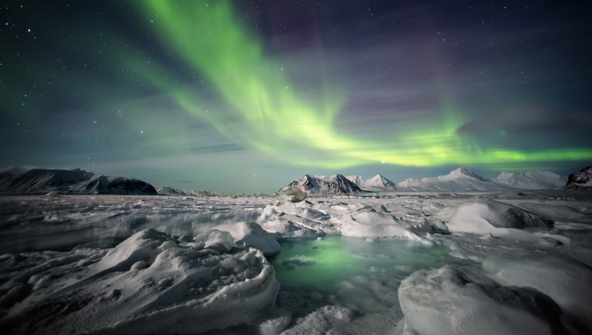 Northern Lights over Svalbard