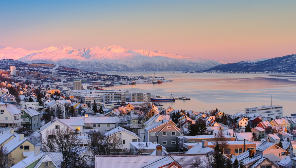 Winter in Tromso, Norway