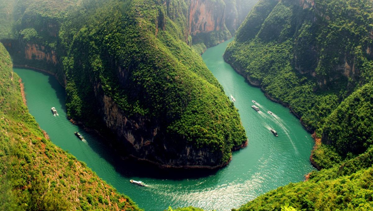 Sanctuary Yangzi Explorer aerial view