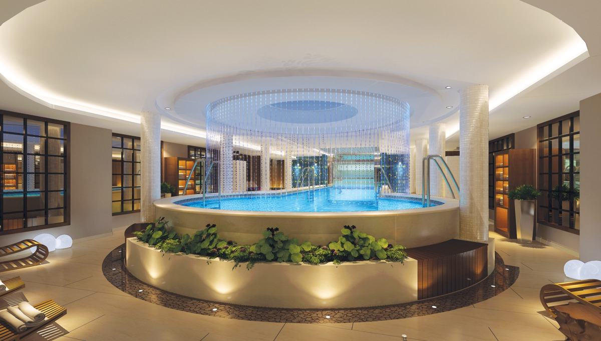 Uniworld Century Paragon indoor pool